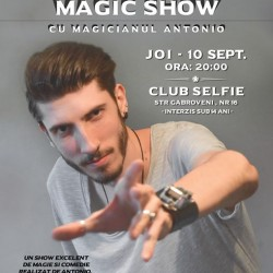 STAND UP MAGIC SHOW