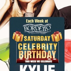 Celebrity Saturday - Kylie Minogue Birthday