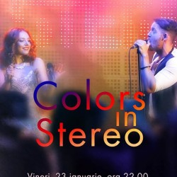 COLORS IN STEREO Live Band Concert  Music Club