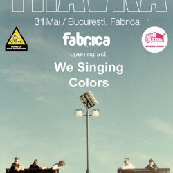 TRAVKA + We Singing Colors live  club Fabrica