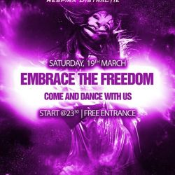 Embrace the Freedom  Come and dance with us
