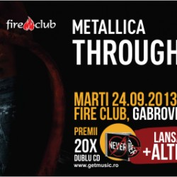 Lansare coloana sonora Metallica-Through The Never in Fire Club