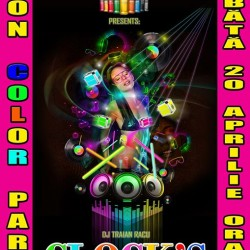 Neon Color PARTY la CLOCKS