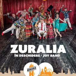 The Zuralia Orchestra  in deschidere acoustic performance by JOY BAND