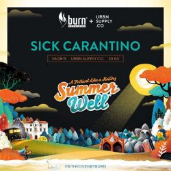 BURNxURBN Sessions  SUMMER WELL FESTIVAL WarmUP