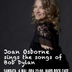 Joan Osborne sings the songs of Bob Dylan / 6 mai-Hard Rock Cafe