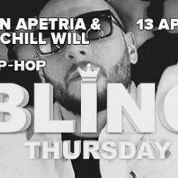 BLING Thursday with DJ Dan Apetria & DJ Chill Will