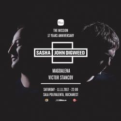 The Mission 17th Anniversary w/ Sasha & John Digweed, Magdalena