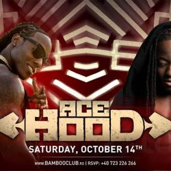 Ace Hood at Bamboo on Saturday, October 14th 2017