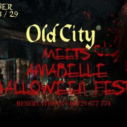 Old City Meets Annabelle * Halloween Fest