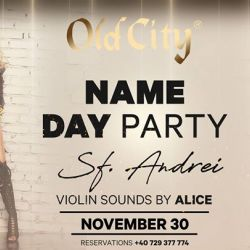 Name Day Party - Sf Andrei - Violin Sounds by Alice
