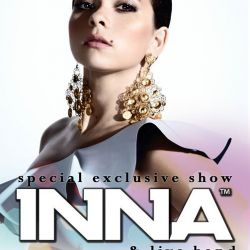 INNA  special exclusive show, 7 martie, Hard Rock Cafe