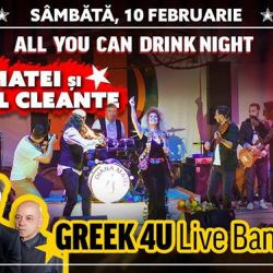 All You Can Drink Night Diana Matei & Taraful Cleante, Greek 4U