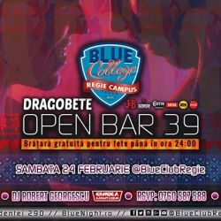 Dragobete Party OPEN BAR 39 lei BlueClubRegie