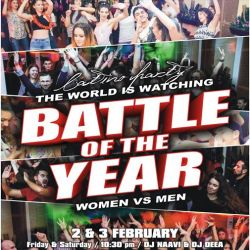 Battle of the Year - latino party