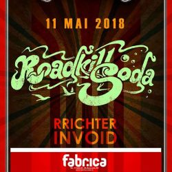 Soundart prezinta RoadKillSoda & Rrichterinvoid at Fabrica