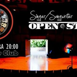 Singer songwriter open stage 140218