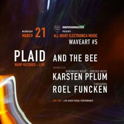 Plaid and The Bee/Karsten Pflum/Roel FunckenWaveart #5