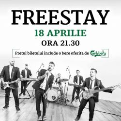 FreeStay revine pe 18 aprilie la Hard Rock Cafe