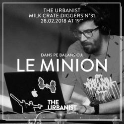 The Urbanist Milk Crate Diggers No 31 / Le Minion