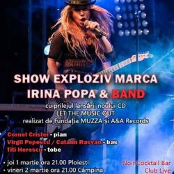 Irina Popa & Band Let The Music Out