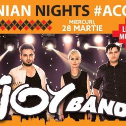 Romanian Nights #Acoustic w/ Joy Band