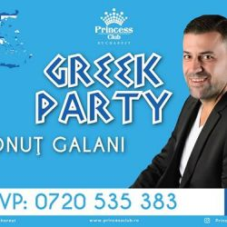 Greek Party  Ionuţ Galani  Princess Club