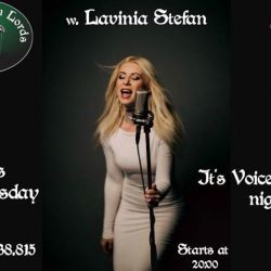 Wednesday w Lavinia Stefan/Voice and Guitar