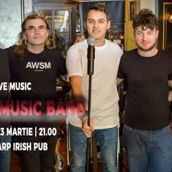 Cezar Music Band LIVE la The Harp Irish Pub