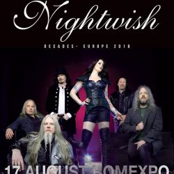 "Nightwish ""20 de ani""  Romexpo  17 august"