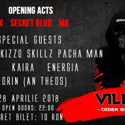 Villain in Bucharest Mojo - band launch