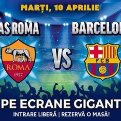 As Roma vs Barcelona  Sferturi Champions League Berăria H