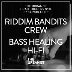 The Urbanist Milk Crate Diggers No 34 / Riddim Bandits Crew