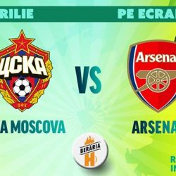 CSKA Moscova vs Arsenal  Sferturi Europa League