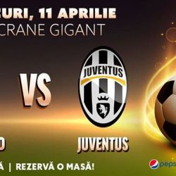 Real Madrid vs Juventus  Sferturi Champions League Berăria H